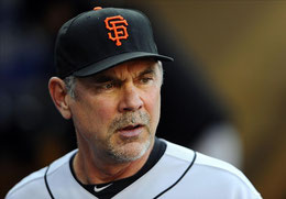 Nella foto Bruce Bochy manager dei Giants (Foto Christopher Hanewinckel-USA TODAY Sports)