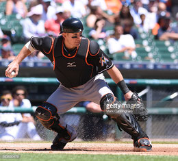 Nella foto Jeff Mathis neo acquisto dei Dbacks (Getty Images)