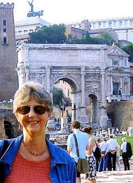 Nella foto Judit Testa a Roma