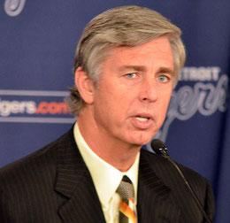Nella foto Dave Dombrowsky, GM dei Tigers