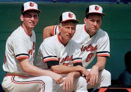 Nella foto da sinistra Billy, Cal Sr, Cal Jr, Ripken