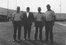 Nella foto da sinistra: Faraone - De Franceschi - Maretti - Shirman (tratta da Il baseball, la sua storia e Nettuno)