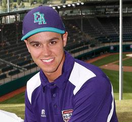 Nella foto Marco Bortolotti alle Little League World Series 2016, giovane coach emergente - Attualmente è responsabile tecnico delle giovanili del Godo
