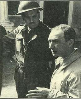 Il Principe Steno Borghese, designato dagli Americani sbarcati in Italia quale primo Sindaco di Nettuno, fu successivamente il 1° Presidente della Federazione Italiana Baseball (Foto da Avigliana)
