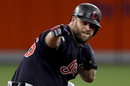 Nella foto Mike Napoli (Getty Images)