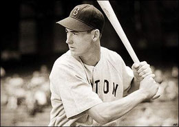 Nella foto Ted Williams