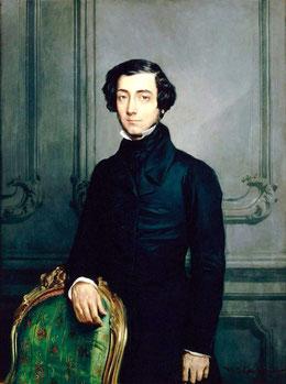 Nella foto Alexi De Tocqueville  filosofo, politico, storico, sociologo, giurista e magistrato francese. La sua più importante opera fu: La democrazia in America