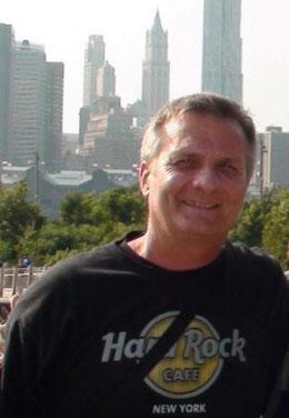 Questo sono io, Paolo Castagnini presso la città che più amo. New York