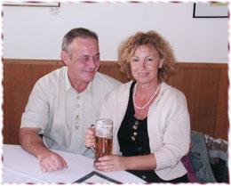 Doris und Gerd Schindler beim Schapendoes Familientreffen in Kloster Scheyern