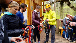 Exkursion im Studiengang Sport- und Eventmanagement (Bachelor of Arts) in den Mainauwald
