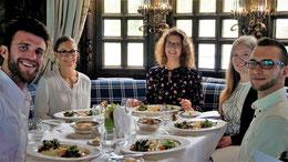Gourmet-Menue im Rahmen des Studiums Gesundheits- und Tourismusmanagement