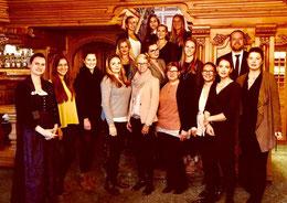 Unsere Tourismusstudenten auf Exkursion in die Traube Tonbach