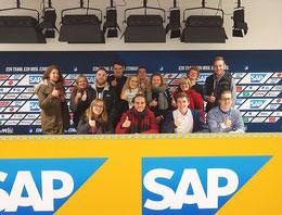 Exkursion im Bachelorstudiengang Sport- und Eventmanagement zur TSG Hoffenheim