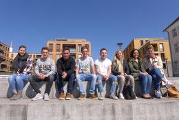 Unsere neuen Studenten in den Studiengängen Sport- und Eventmanagement sowie Gesundheits- und Tourismusmanagement