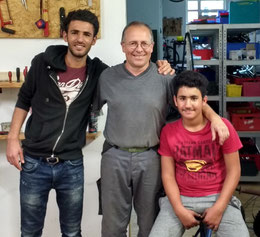 Kamiran Ahmed, Axel Hillmann, Benian Ahmed