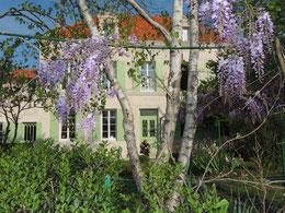 Etudier le français en France chez le professeur, au manoir de la Peuchollerie
