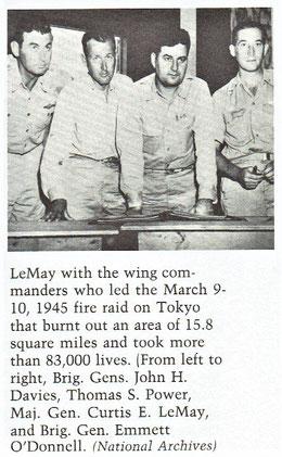 司令官のルメイ(Curtis E. LeMay)