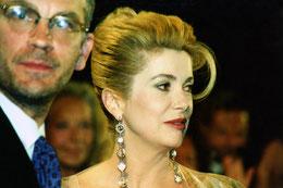Catherine Deneuve - Festival de Cannes 1995 - photo © Anik COUBLE