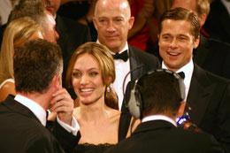 Angelina Jolie et Brat Pitt - Festival de Cannes 2007