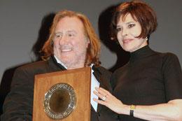 Festival Lumière à Lyon en 2011, avec Gérard Depardieu, en invité d'honneur