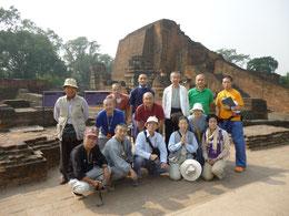 At Nalanda University Ruins