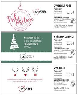 Weihnachtswein Weinfamilie Schober Feuersbrunn