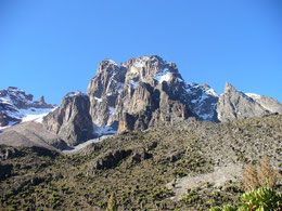 Mount Kenya is accessible from Nairobi and the Laico Regency Hotel. Dante Harker