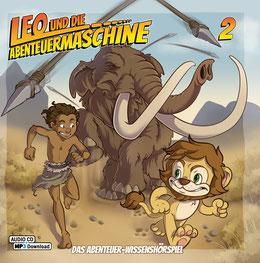 CD-Cover Leo und die Abenteuermaschine 2