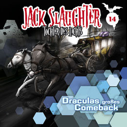 CD-Cover Jack Slaughter - Draculas großes Comeback