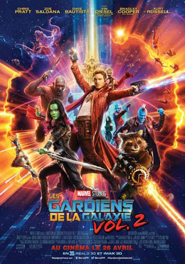Les Gardiens de La Galaxie 2 de James Gunn - 2017 / Fantastique