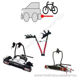 AHK-Fahrradträger. Sicherer Transport für 2, 3, 4 Fahrräder - auch Elektrofahrrad