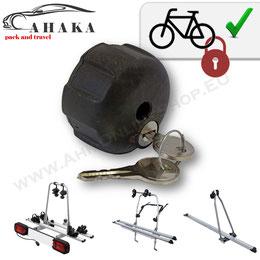 So schützen Ihr Fahrrad am Heckträger gegen Diebstahl