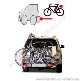 AHK-Heckträger für 2 Fahrräder