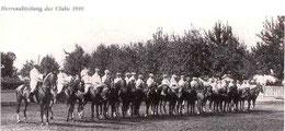 Herren-Abteilung des Clubs 1910