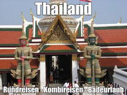 Kombiurlaub Thailand Rundreise Bangkok und Baden Koh Samui, Phuket, Khao Lak, Kombireisen Thailand Kambodscha Baden Golf von Siam