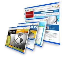 screenshots mehrerer websites
