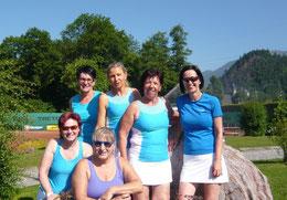 Damen 45 - Priska, Doris, Petra, Ulli, Bruni, Karin