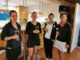 Daniela, Birgit, Conny und Claudia