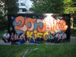 Freuen sich auf die Öffnungszeiten nach den Ferien: die Teamer des Kinderforums