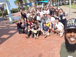 """Workshop zur Jugendarbeit - in dem Jugendzentrum """"The Box"""" in Ost-Netanja."""