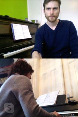 Onlinemusikunterricht bei der Musikschule Musikplanet in Lüneburg Klavierunterricht Jonathan Blochwitz