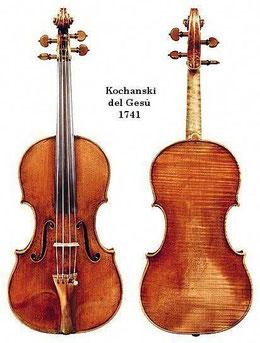 скрипка Гварнери дель Джезу