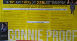 Imago en etiquette specialist Gonnie Klein Rouweler tips and tricks studentenmagazine Enschede