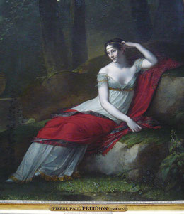 Madame Guiseppina Grassini in the Role of Zaire, 1805 (flickr, CC BY-NC-SA 2.0, picture by jean louis mazieres) regency dress, fashion trendsetter