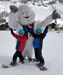 cours enfant snowboard, kids snowboard lesson, teaching, snowboarding