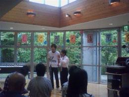 名古屋お笑い芸人 ファニーチャップ 社会福祉施設で漫才