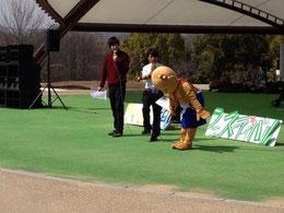 名古屋お笑い芸人 ファニーチャップ イベントで漫才