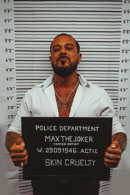 Al Capone Tattoo ink.