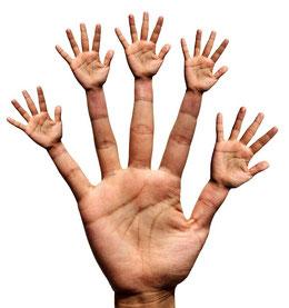 Hände, Pflege, Haut