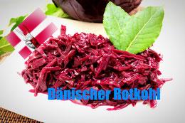 Blaukraut Rezept dänemark dänisch dänischer rotkohl